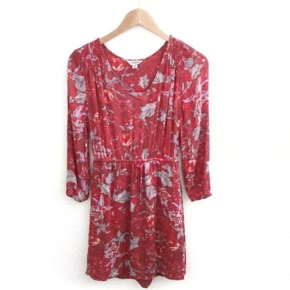 Lucky Brand Dresses & Skirts - 2/$25 Lucky Brand Floral Dress Red Size XS